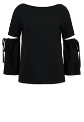 Club Monaco Sandrella Blouse Black