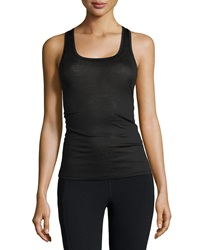 Hanro Paper Touch Tank Top Black