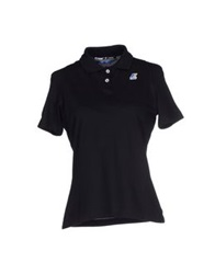 K Way Polo Shirts Black