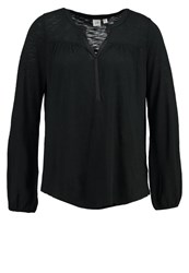 Gap Long Sleeved Top True Black