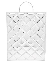Marques Almeida Quilted Tote Bag Silver