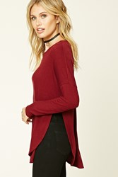 Forever 21 Dolman Sleeve Knit Top