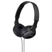 Sony Mdr Zx110ap On Ear Headphones With Mic Remote Black