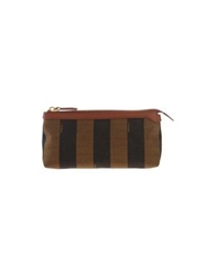 Fendi Beauty Cases Brown