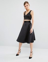 Coast Coro Full Skirt Black