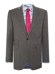 New And Lingwood Horsham Sb2 Notch Lapel Suit Jacket Grey