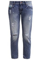 Superdry Relaxed Fit Jeans Shipwrecked Blue Blue Denim