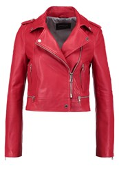 Oakwood Leather Jacket Red