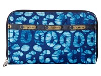 Le Sport Sac Lily Tulum Checkbook Wallet Navy