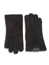 Ugg Sheep Shearling Gloves Chestnut Chocolate Black
