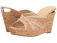 Guess Eleonora Natural Women's Wedge Shoes Beige