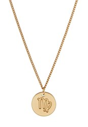 Sweet Deluxe Virgo Necklace Goldcoloured