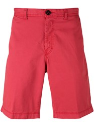 Michael Kors Chino Trousers Men Cotton Spandex Elastane 32 Red