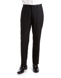 Calvin Klein Straight Fit Twill Pants Black