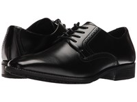 Stacy Adams Ardell Slip Resistant Plain Toe Oxford Black Men's Plain Toe Shoes