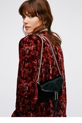 Free People Womens Twin City Vegan Crossbody