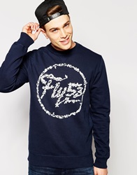 Fly 53 Sweatshirt Blue
