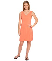 Jack Wolfskin Wahia Dress Hot Coral Women's Dress Red