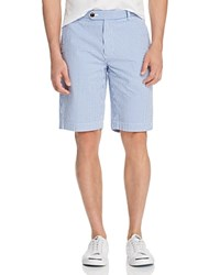 Brooks Brothers Seersucker Gingham Bermuda Shorts Blue Gingham