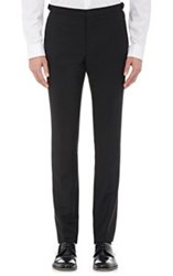 Burberry Xo Barneys New York Slim Tuxedo Trousers Black
