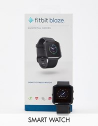 Fitbit Blaze Smart Watch In Gunmetal Black