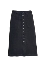 Mih Jeans Sonning Button Through Denim Skirt