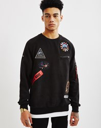Eleven Paris Space Patch Sweatshirt Black