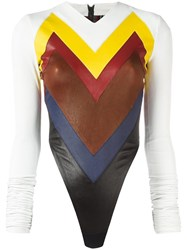 Y Project Chevron Panelled Body