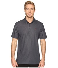 Travis Mathew Rawls Polo Black Men's Clothing