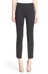 Women's Akris Punto 'Franca' Techno Cotton Pants Black