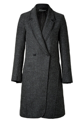 Zadig And Voltaire Wool Blend Manon Coat