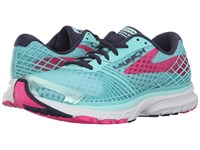 Brooks Launch 3 Blue Tint Pink Glo Peacoat Women's Running Shoes