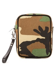 Phenomenon Camouflage Print Cross Body Bag Green