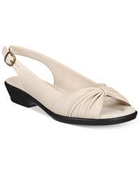 Easy Street Shoes Fantasia Sandals Women's Bone