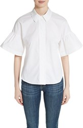 Burberry Women's Tansy Bell Sleeve Shirt