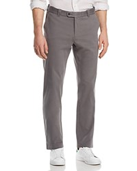 Bloomingdale's The Men's Store At Chino Straight Fit Pants 100 Exclusive Gray