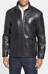 Men's Marc New York By Andrew Marc 'Alex' Leather Jacket Black