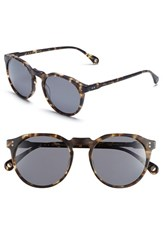 Men's Raen 'Remmy' 51Mm Polarized Sunglasses Matte Brindle Tortoise Smoke