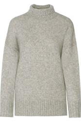 Nlst Knitted Turtleneck Sweater Gray