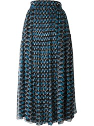 Fendi Geometric Print Skirt Multicolour