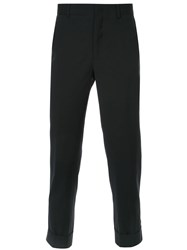 Ck Calvin Klein Cropped Tailored Trousers Black