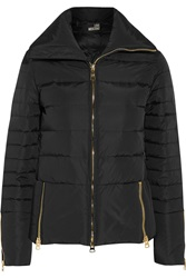 Love Moschino Quilted Shell Jacket Black
