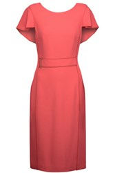 Jason Wu Ruffled Twill Dress Bubblegum