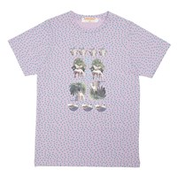 Supersweet X Moumi And Friends Tee Green Pink Purple