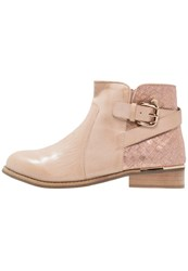 Xti Ankle Boots Nude