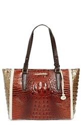 Brahmin Medium Arno Leather Shopper