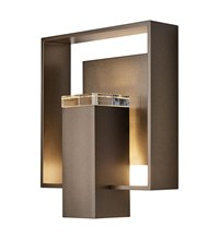 Hubbardton Forge Shadow Box Outdoor Sconce