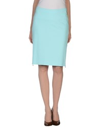 Vdp Collection Skirts Knee Length Skirts Women Turquoise