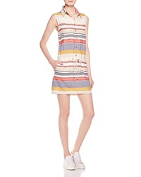Mother Striped Shirt Dress Gos