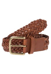 Hackett London Belt Brown Cognac